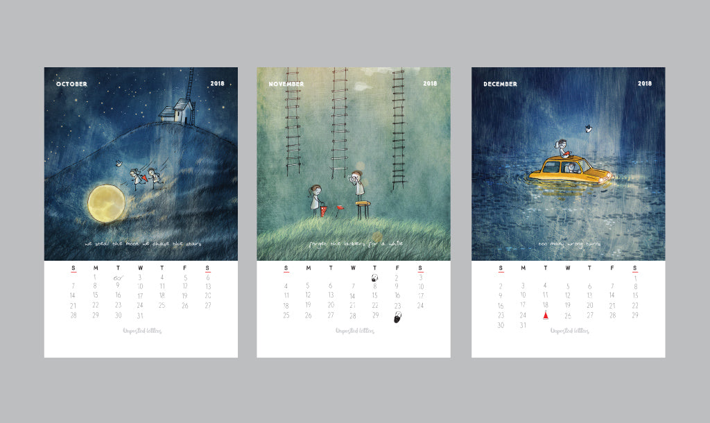 Art Calendar 2018 | Limited Edition | New Year Gift