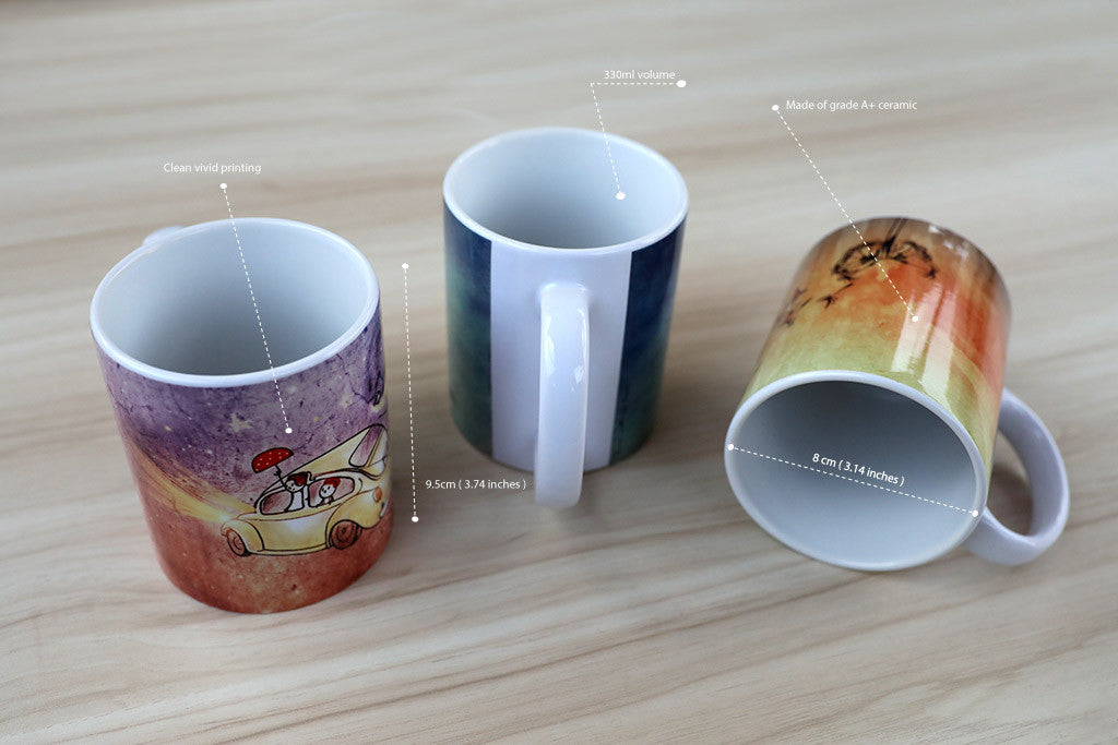 Illustrated Mug | Unposted Letters | Desktop Series