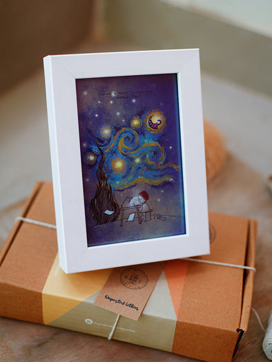 Framed Mini Art - Van Gogh - Unposted Letters Store - 1