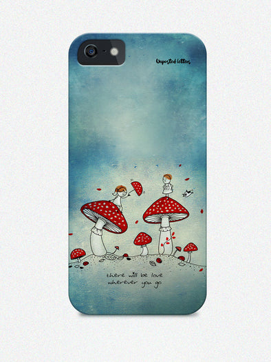 Mobile Phone Case - Phone case - 'There will be love' - Unposted Letters Store - 1