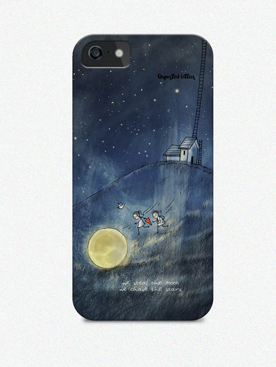 Phone case - 'We steal the moon'