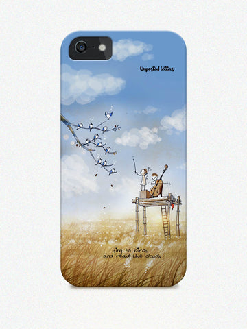 Phone case - 'Read the clouds'