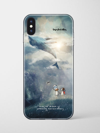 Premium Glass Phone Case - 'Then We Dream'