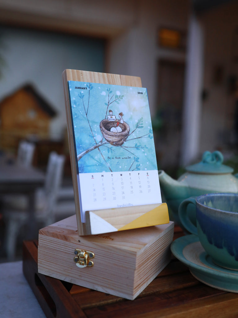 Art Calendar + Wish in a Box 'Just Fly'