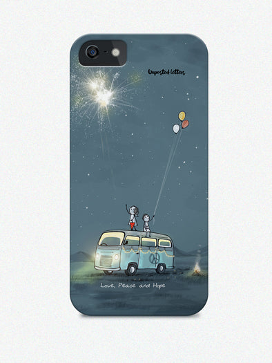 Phone case - 'Love peace and hope'
