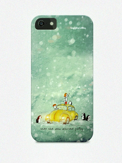 Mobile Phone Case - Phone case - 'Snow falls' - Unposted Letters Store - 1