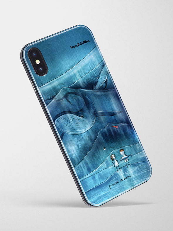 Premium Glass Phone Case - 'Frozen Dreams'