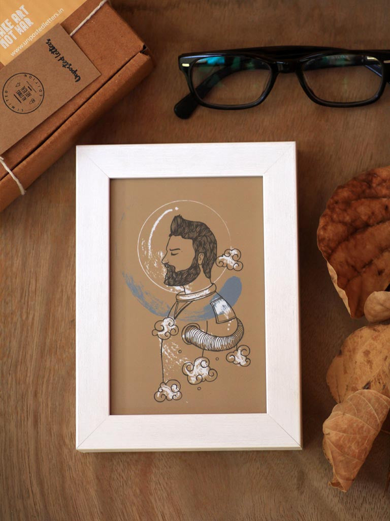 Framed Mini Art - Human Tapestry - Space - Unposted Letters Store - 1