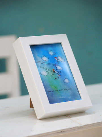 Framed Mini Art - Never going back - Unposted Letters Store - 1