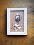 Framed Mini Art - Human Tapestry - Sea - Unposted Letters Store - 1