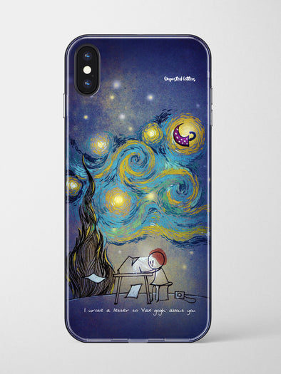 Premium Glass Phone Case - 'Van Gogh'