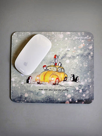 Mouse pad - Snow falls
