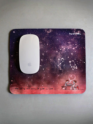 Mouse pad - And all of the stars