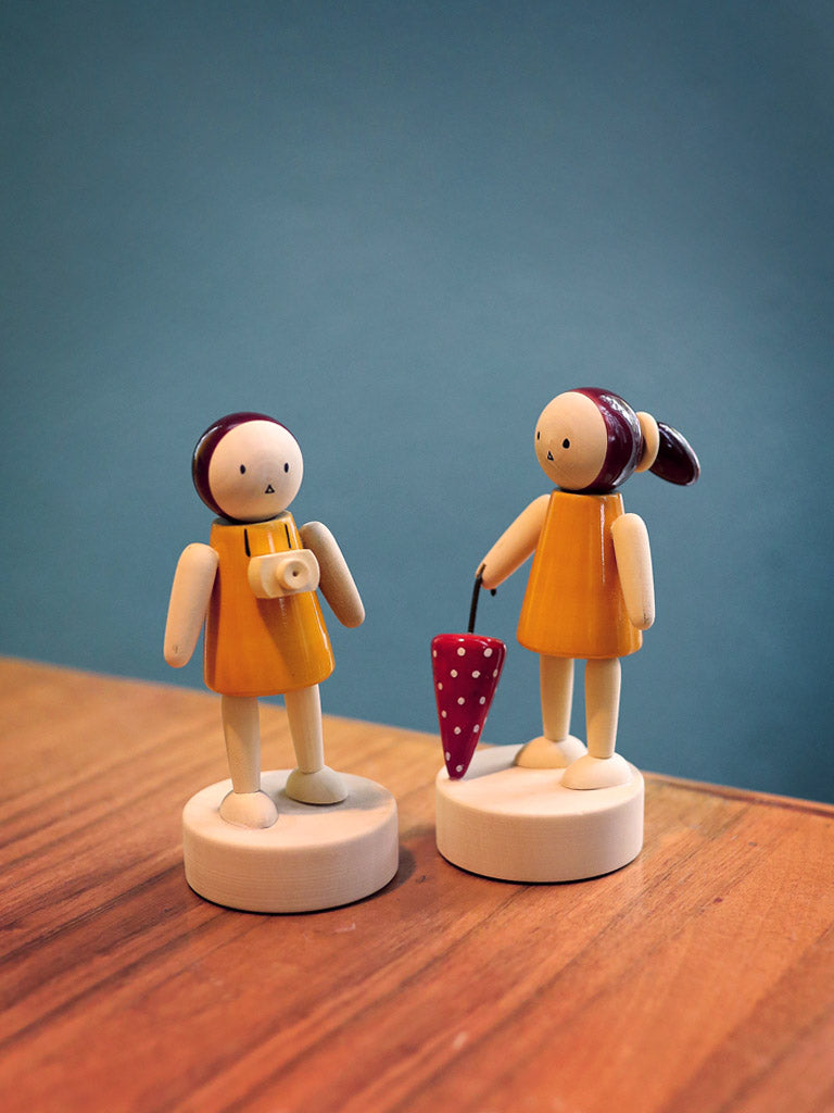 Classic Wooden Dolls