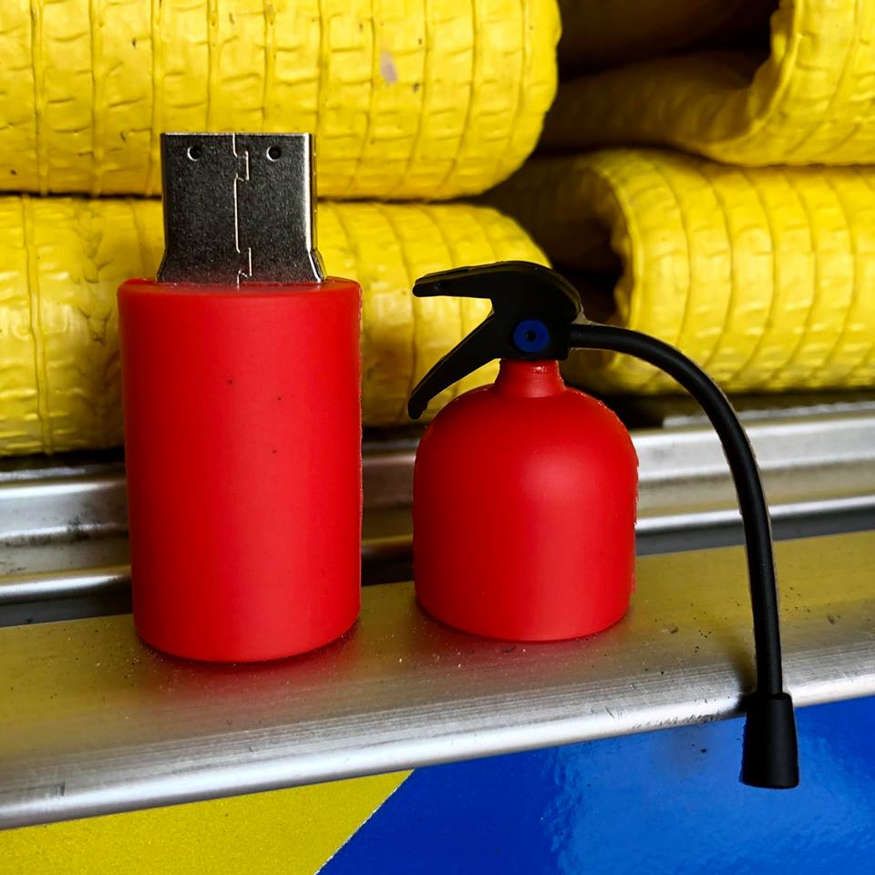 Fire Extinguisher USB Flash Drive