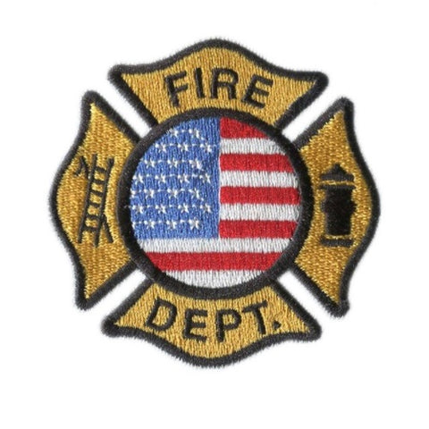 FIRE DEPT Embroidery Patch