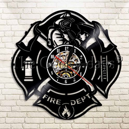 Fire Dept Clock