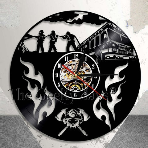 Fire Rescue Clock