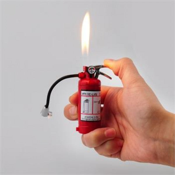 REFILLABLE Mini Fire Extinguisher Lighter