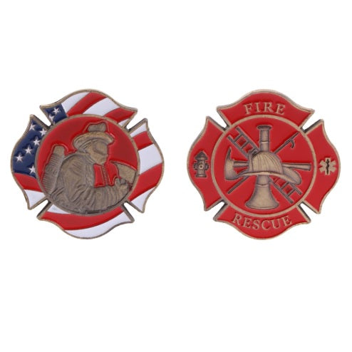 American Firefighter Challenge Coin