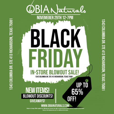 black friday in-store event 2019
