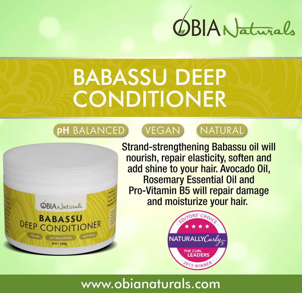 Babassu Deep Conditioner - OBIA Naturals - 2