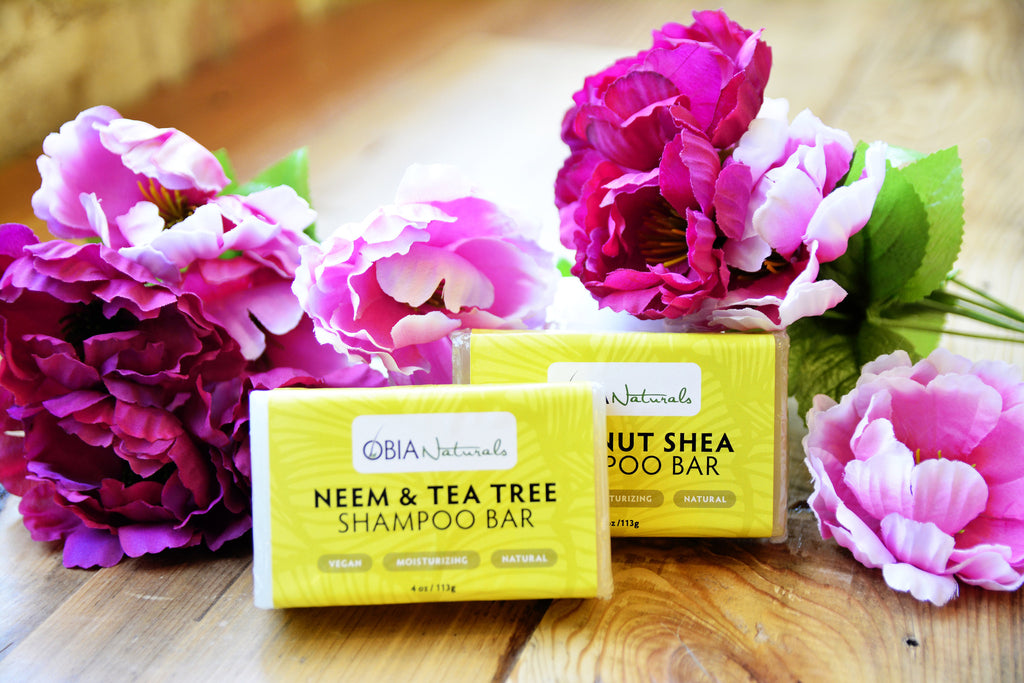 Neem Tea Tree Shampoo Bar - OBIA Naturals - 2