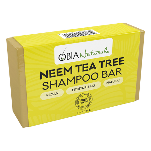 Neem Tea Tree Shampoo Bar - OBIA Naturals - 1
