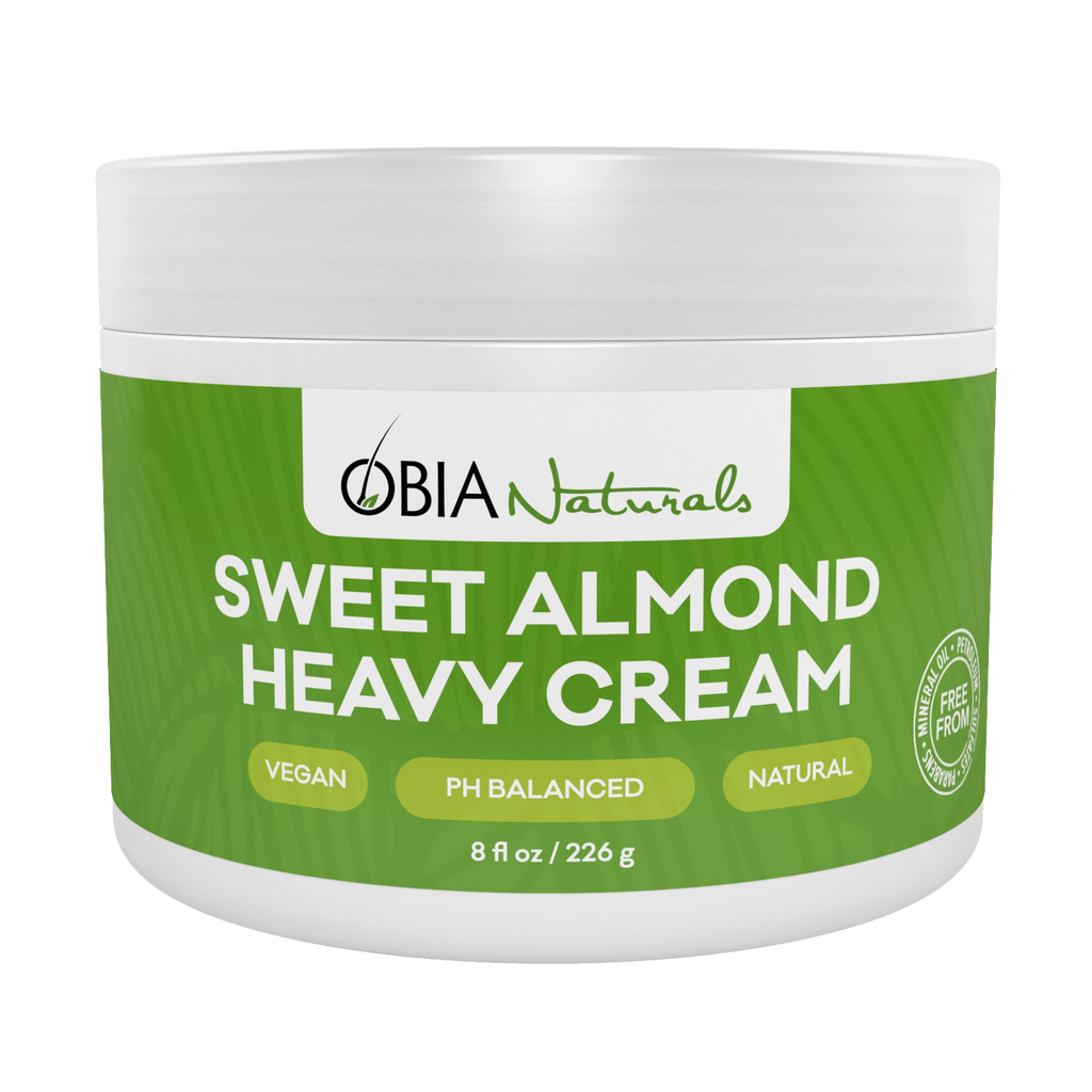 Sweet Almond Heavy Cream - OBIA Naturals