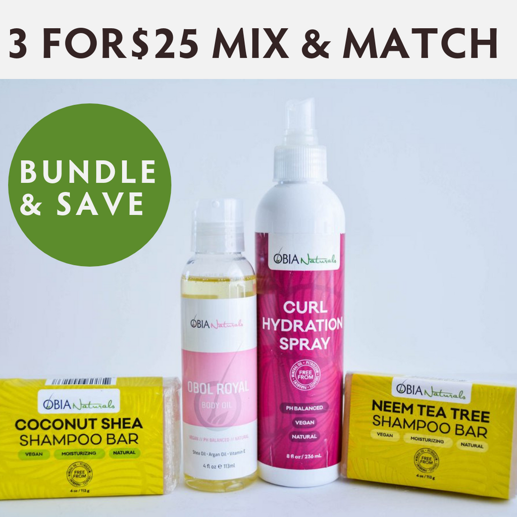 3 FOR $25 MIX AND MATCH