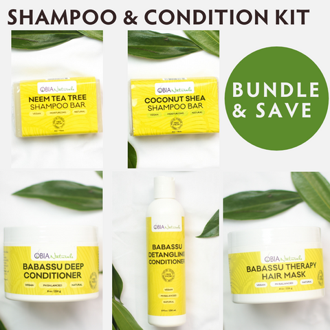 Shampoo & Condition Kit