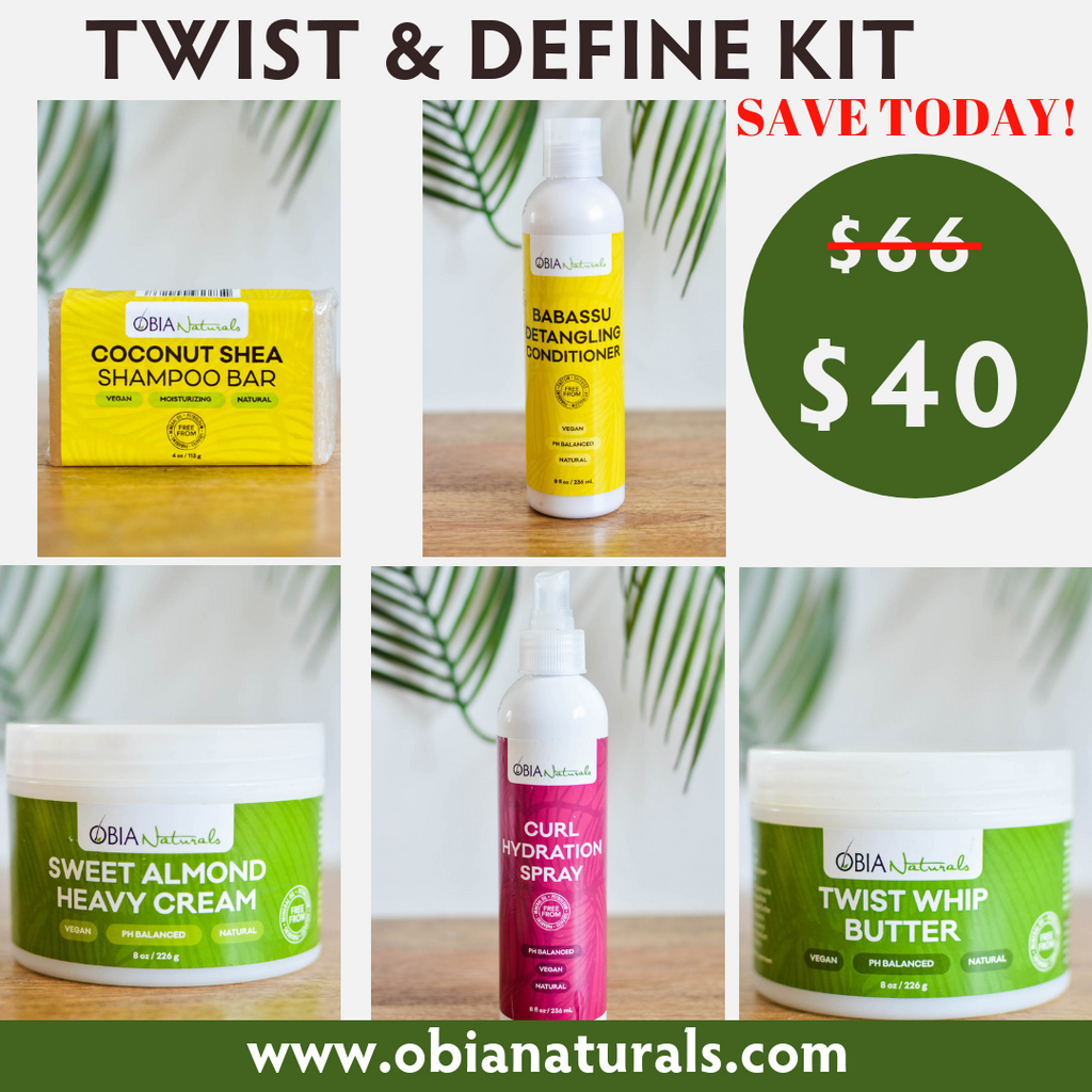 Twist & Define Kit