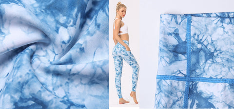 Breathable Moisture Wicking, Dry Fit Yoga Pants Fabric