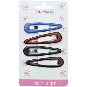 5cm epoxy coated snap hair clips epoxy women hair accessories clip set 1265 - SOHOBUCKS CO.,LIMITED