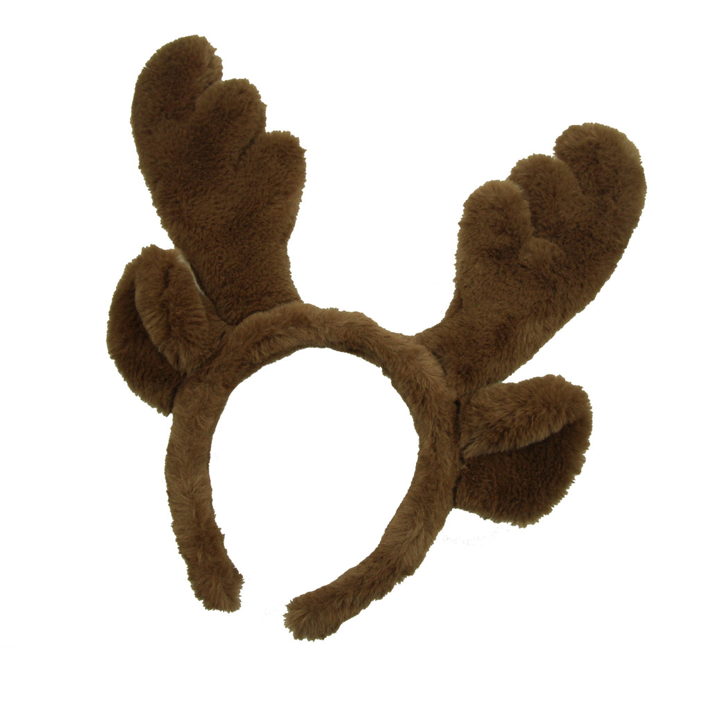 Christmas Brown Reindeer Antlers Hair Hoop Christmas Kids Headband Headwear for Children Christmas Party Ears Decoration winter hair accessories8105