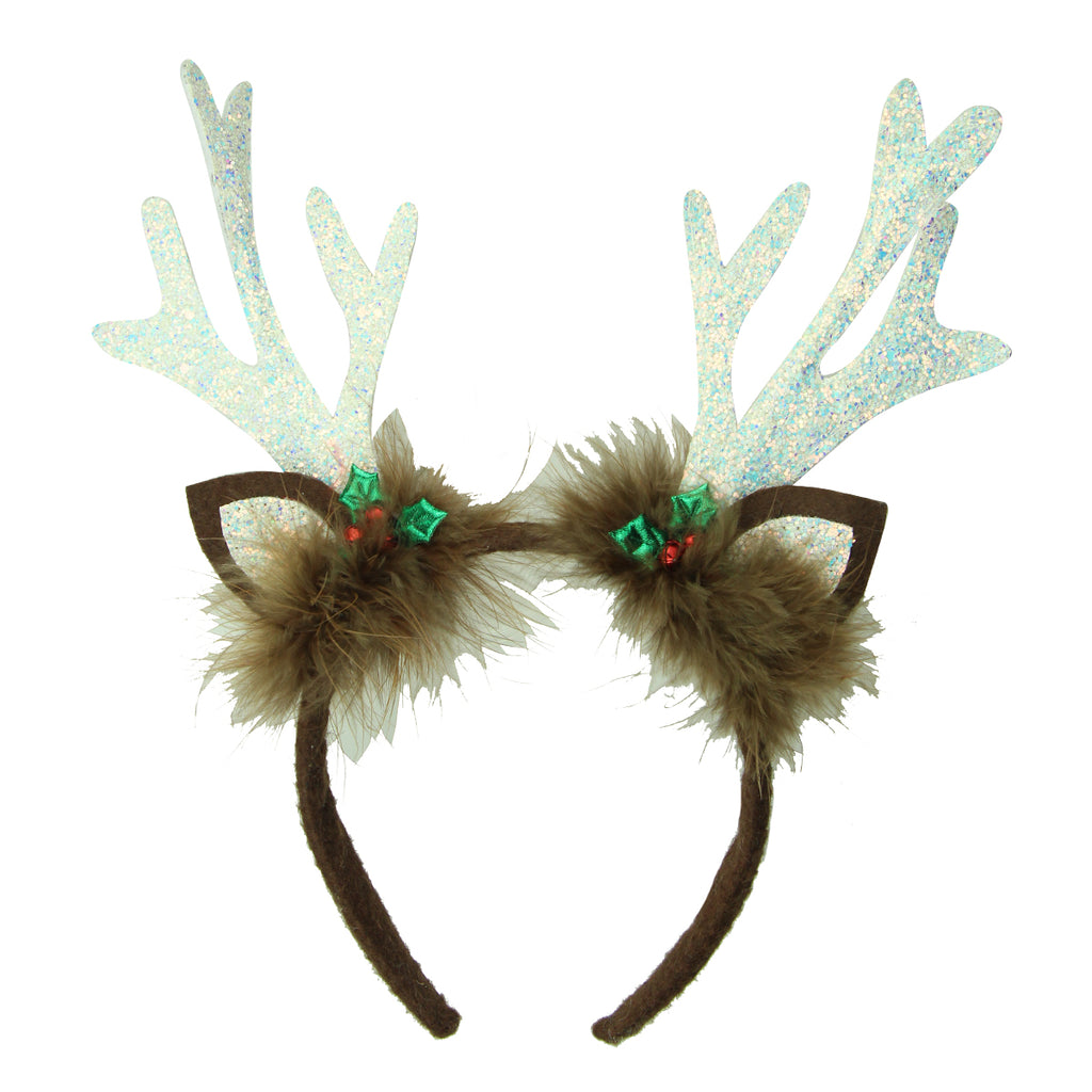 Christmas Hair Headband Reindeer Antler Hair Hoop Headpiece Festival women hair accessories 8125
