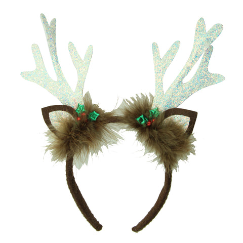 Christmas Hair Headband Reindeer Antler Hair Hoop Headpiece Festival women hair accessories 8125 - SOHOBUCKS CO.,LIMITED