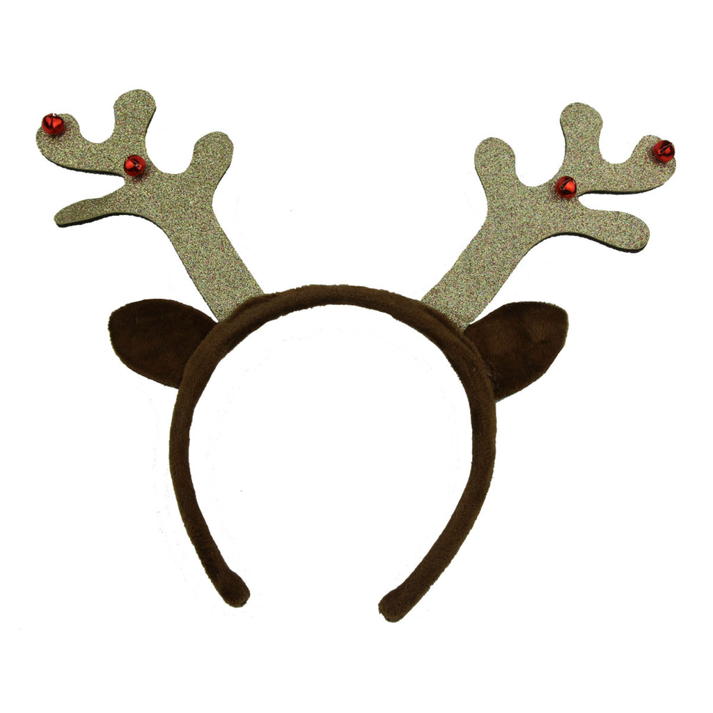 Christmas reindeer hairband deer antler headband party festival hair accessory 6109