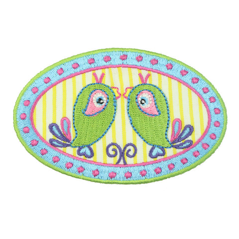 DIY Embroidered Patches for Clothing Iron on Patch Cartoon alpaca Applique Badge Cactus Cute Parches Garment Accessory 9254