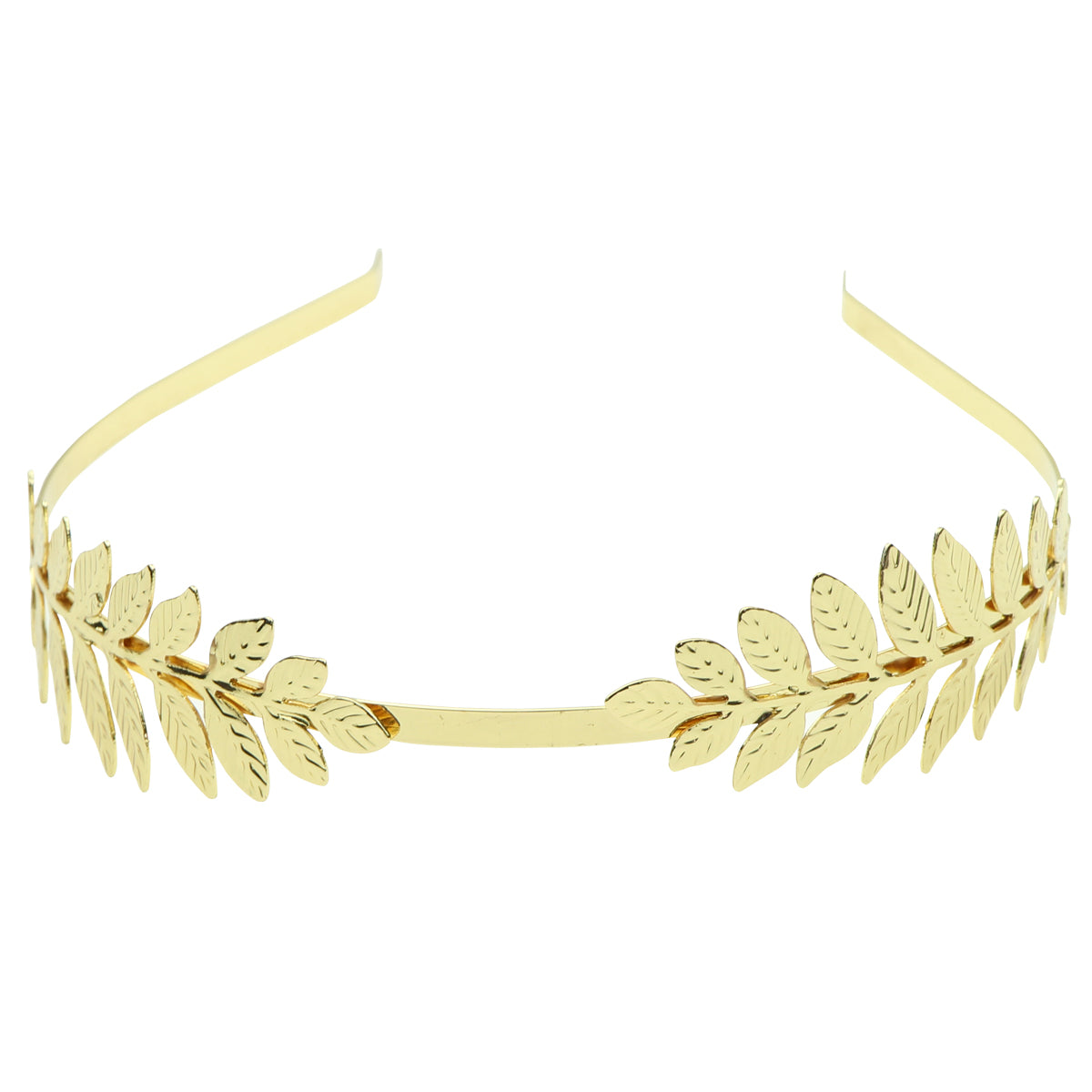 Metallic gold leaves hair headbands wholesale women hair accessories 0929 - SOHOBUCKS CO.,LIMITED