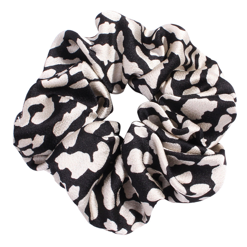 animal print leopard hair scrunchies,custom print hair bobbles ties90630
