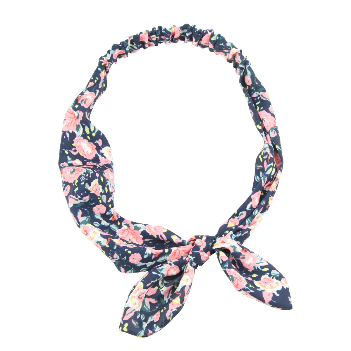 bandana polyester hair bands turban hair head wrap bunny ear women hair accessory 6730 - SOHOBUCKS CO.,LIMITED