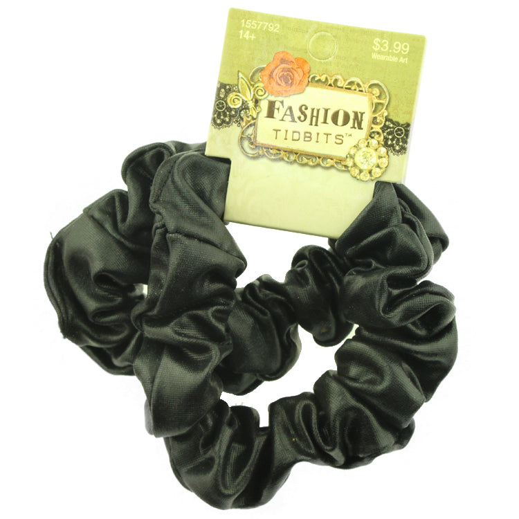 black suede leather scrunchies hairband metallic scrunchies women scrunchy hairband wholesale 2544
