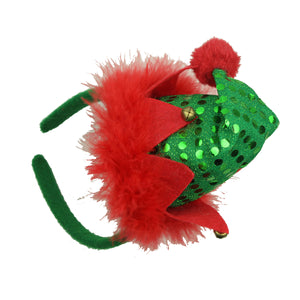 christmas hat hairband,latest xmas bell hairband designs,cute hairbands headbands for girls8139 - SOHOBUCKS CO.,LIMITED