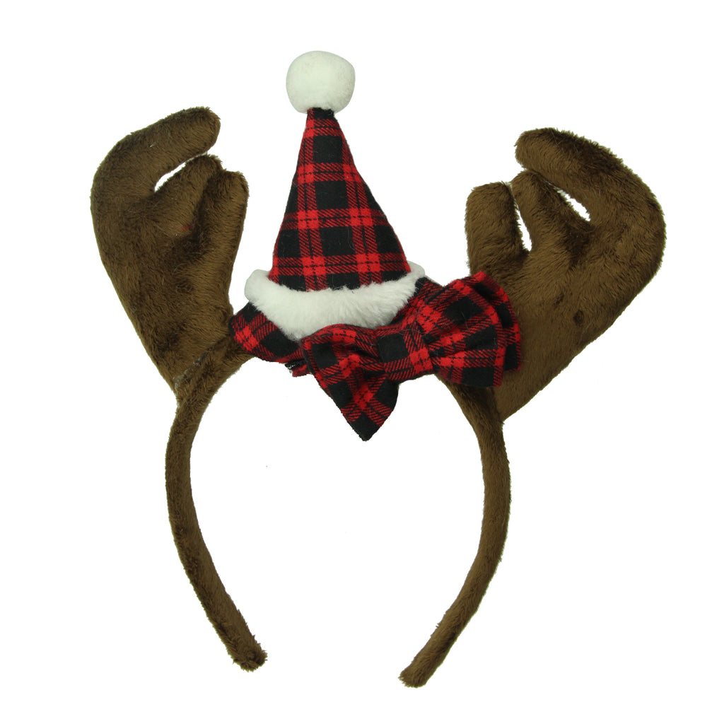 christmas reindeer antler headbands funny antler headband Christmas party hair decoration accessories8138