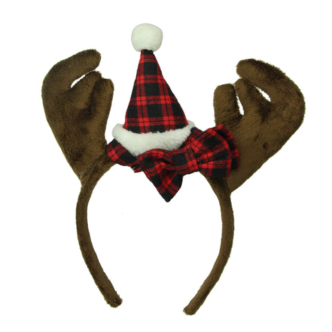 christmas reindeer antler headbands funny antler headband Christmas party hair decoration accessories8138 - SOHOBUCKS CO.,LIMITED