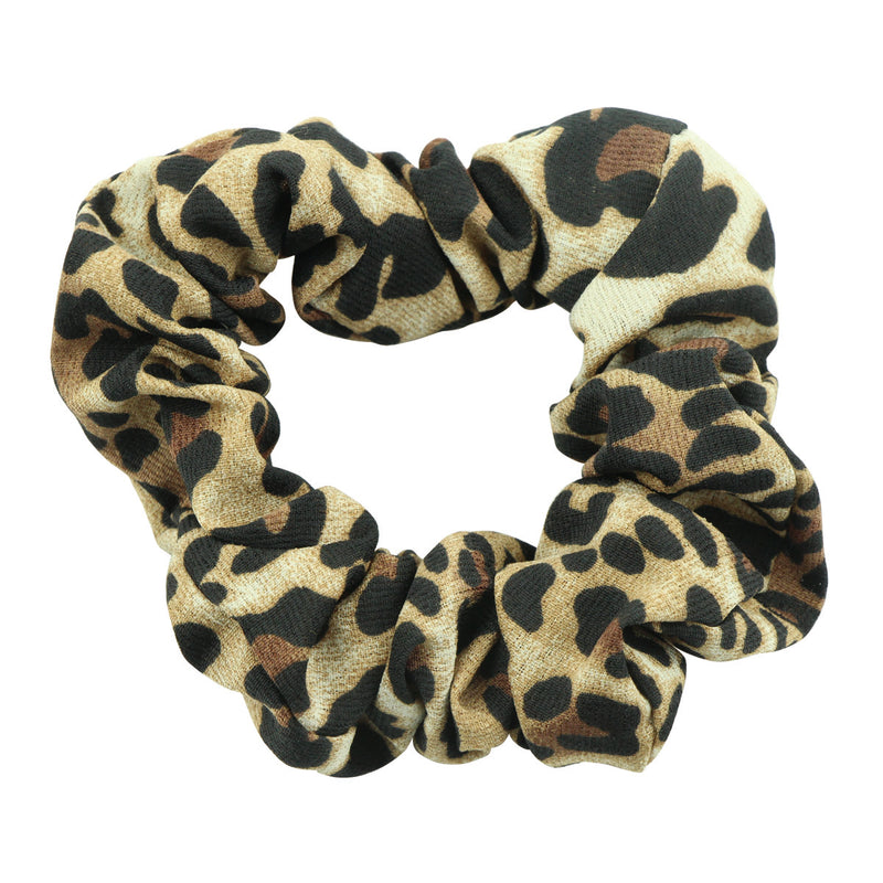 custom animal print leopard hair scrunchies private label scrunchies hairband wholesale at factory price 5593