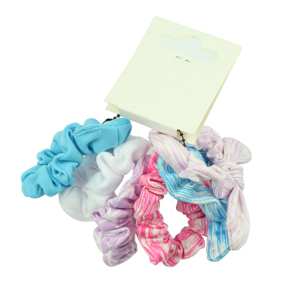 custom print dye sublimation bunny ears hair scrunchies bobbles elastic hair bands 6554 - SOHOBUCKS CO.,LIMITED