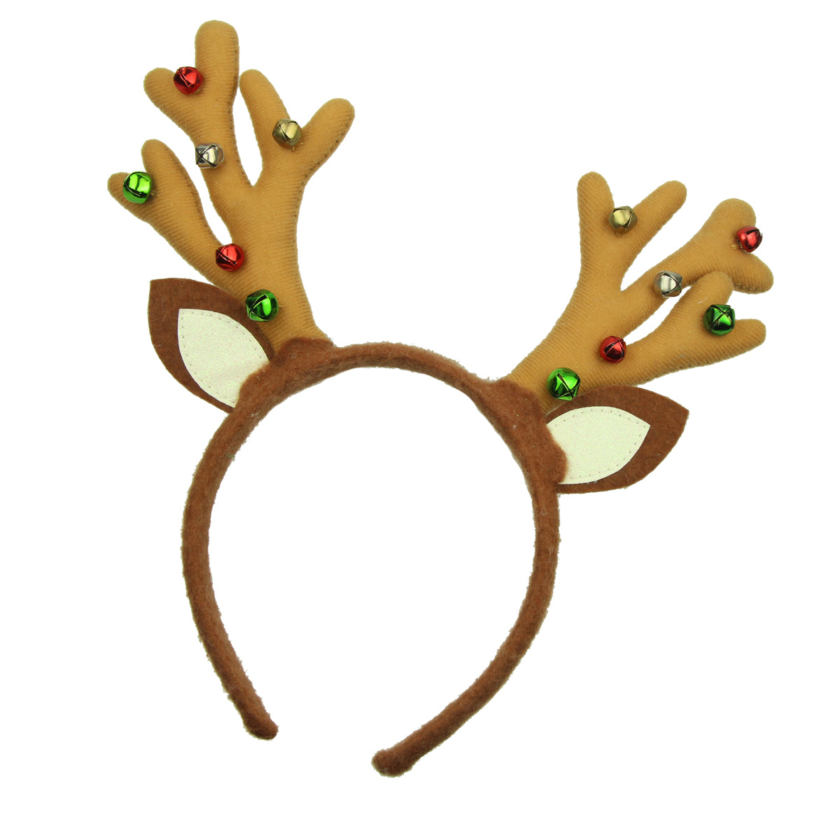 deer antler velvet christmas hairband deer horn headband8103 - SOHOBUCKS CO.,LIMITED