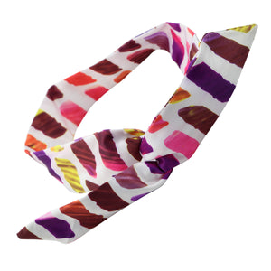 dye sublimation Heat Transfer Floral Wire Headband Adjustable hair band wholesale  0747 - SOHOBUCKS CO.,LIMITED